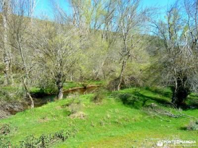 Río Cega,Santa Águeda–Pedraza; puente noviembre maestrazgo teruel senderos de extremadura castil
